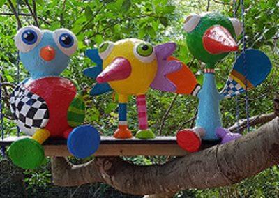 Kindermuseum Curacao vogels