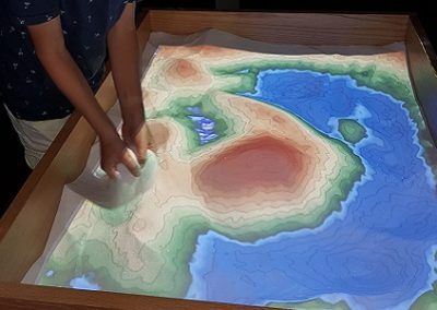 Kindermuseum Curacao kaart